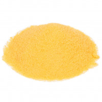 Suikerspinsuiker Geel - Banaan - 1000 gram